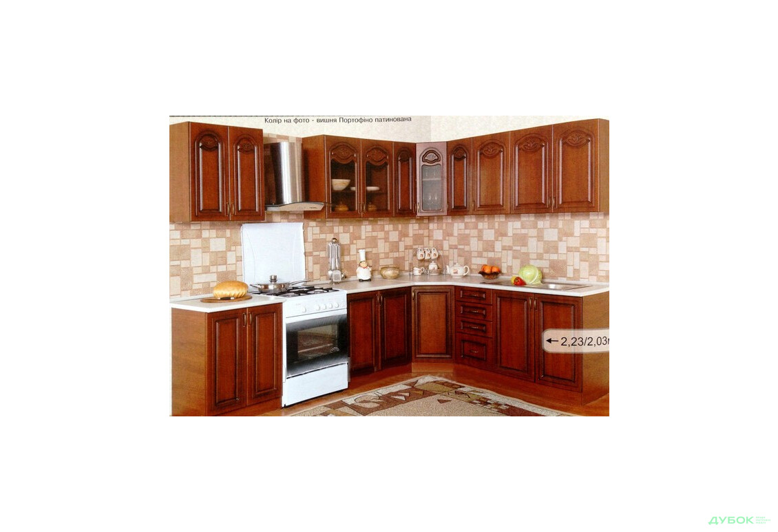 Модульна кухня Оля Патина