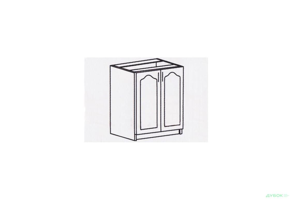 Оля МДФ матовая Шкаф-стол 600 СШ-407