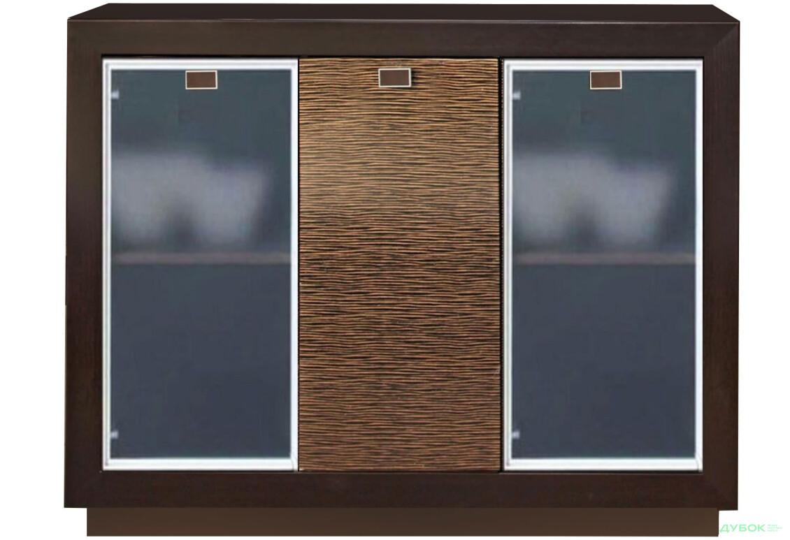 Корвет золотая лоза Шкаф-витрина МР-2742