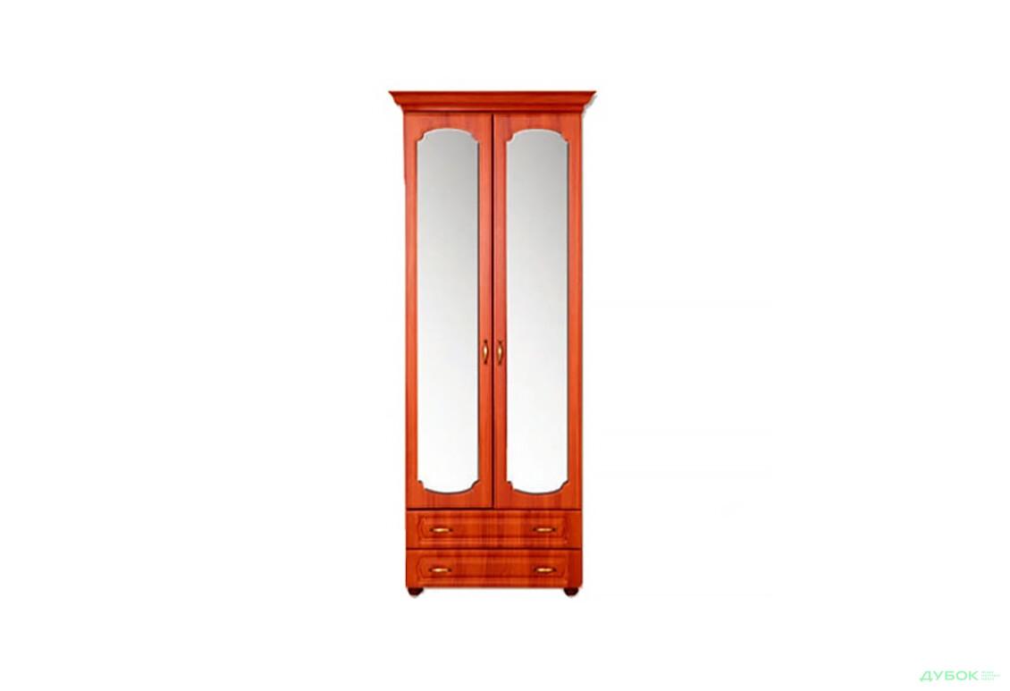 Модульная спальня Дженифер Шкаф 2Д с зеркалом Ш-1617