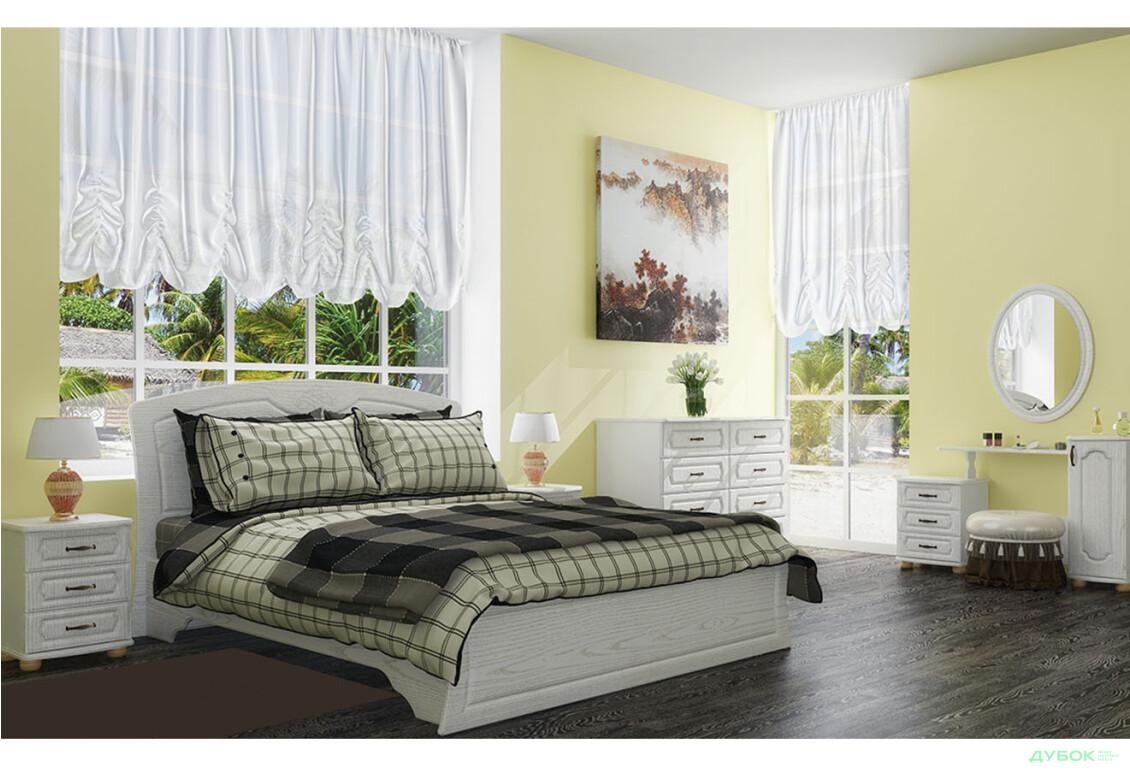 Модульная спальня Дженифер белая