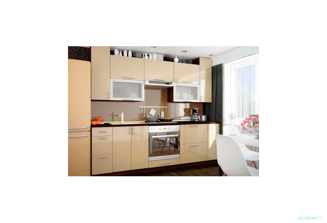 Модульная кухня МоДа металик / MoDa metallic