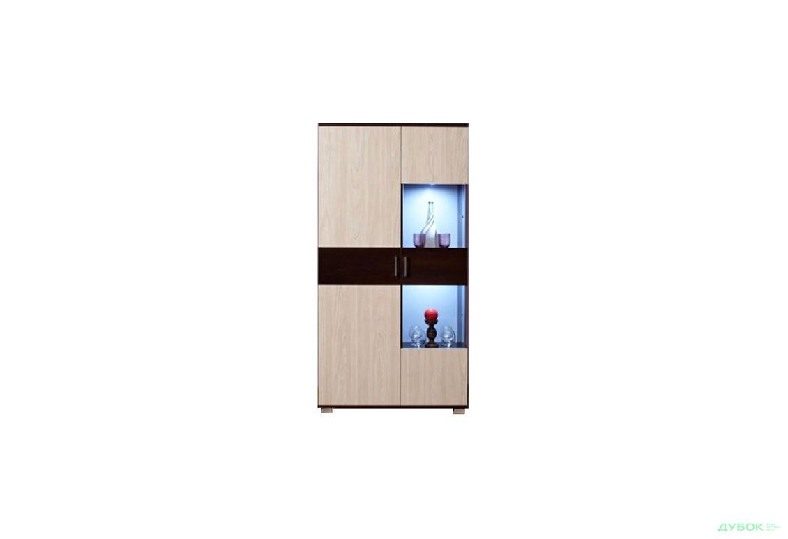 Модульная гостиная Берлин Шкаф+витрина