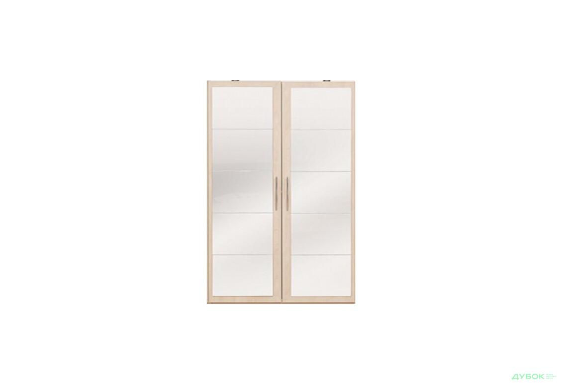 Двері із дзеркалом (шафа-гардероб)