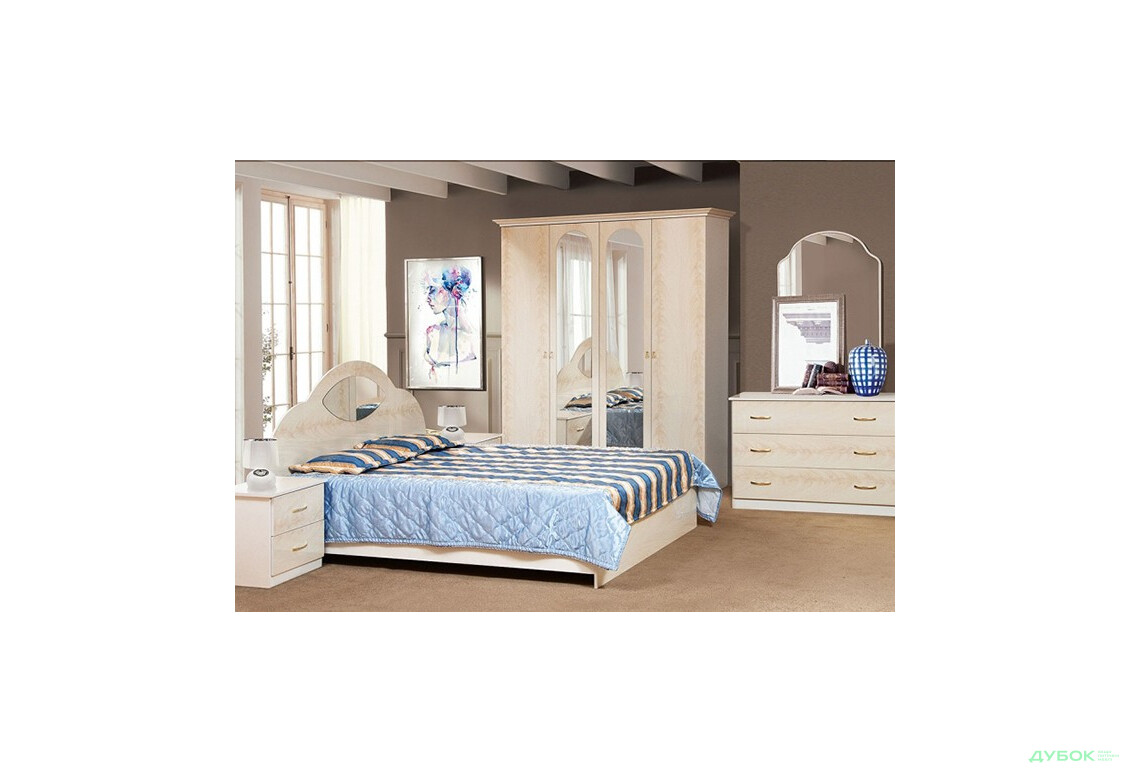Модульная спальня Милена
