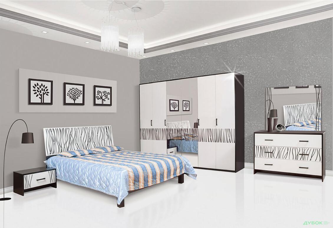 Модульная спальня Бася новая